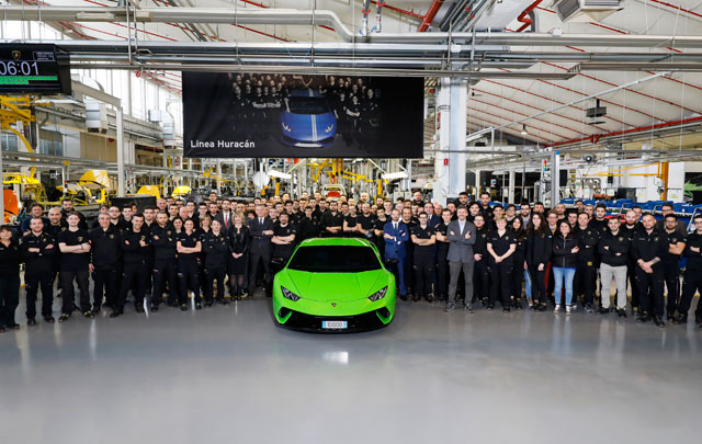 Cukup 4 tahun, Lamborghini Huracán Tembus Produksi 10.000 unit