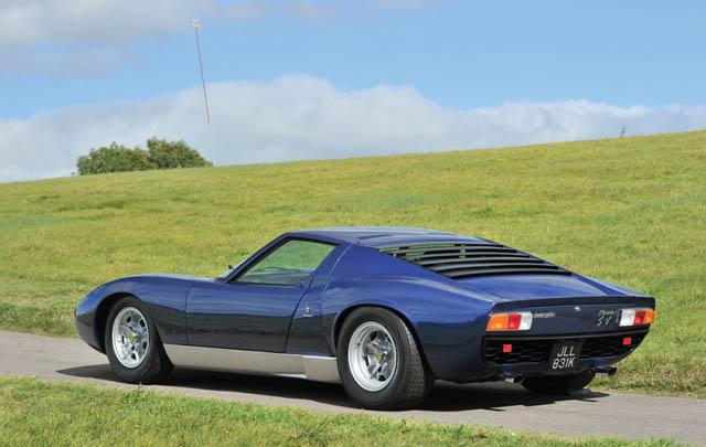 Dijual: Lamborghini Miura eks Rod Stewart!