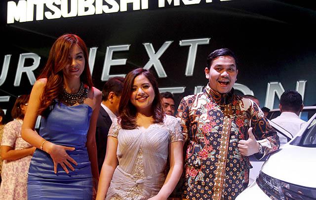 Meriahnya Acara 'Exclusive Preview Next Generation MPV Mitsubishi'