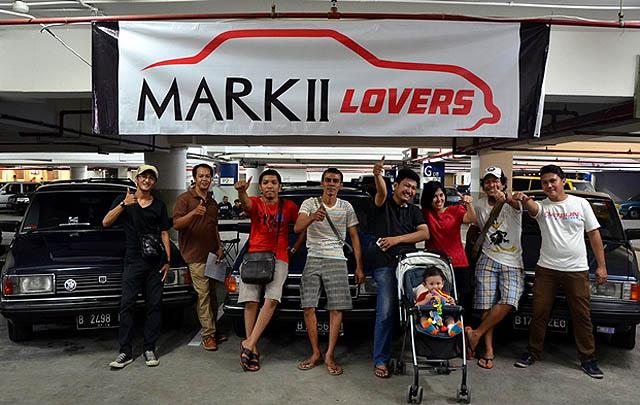 Mark II Lovers, para pecinta Toyota Corona Mark II./ Foto-foto: Novriyadi