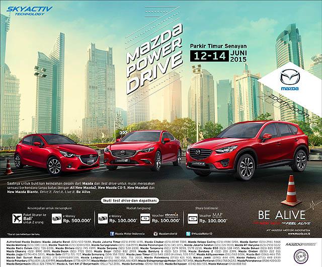 PT Eurokars Motor Indonesia Gelar 'Mazda Power Drive'
