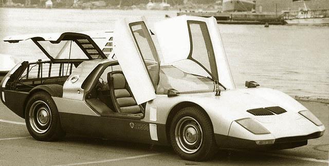 Konsep Retro Unik: Mazda RX-500 1970