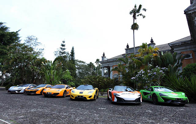 McLaren Club Indonesia Gelar 'Java Urban Drive 2017'