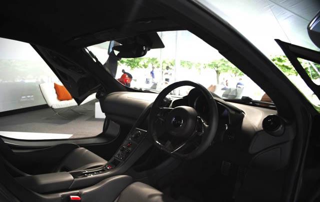 McLaren 650S MSO Debut di Festival of Speed 2014