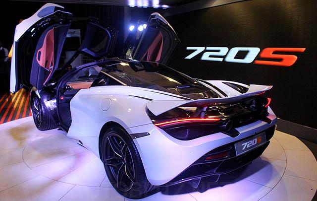 Resmi Dirilis, McLaren 720S Manjakan Pecinta Supercar di Indonesia