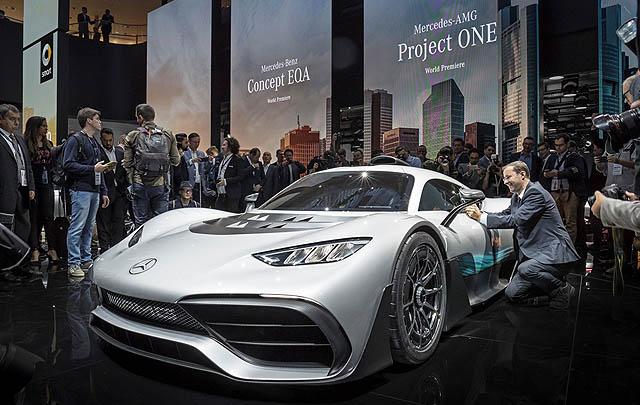 Mercedes-Benz di Frankfurt Motor Show 2017: Membentuk Mobilitas Masa Depan