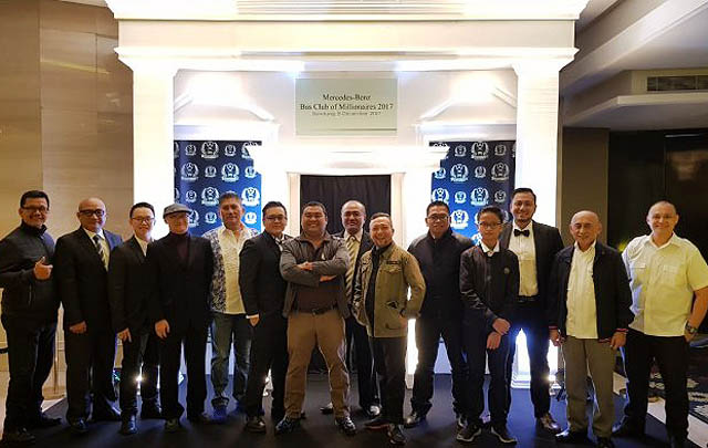 Mercedes-Benz Bus Club of Millionaires Tambah Member 10 Perusahaan