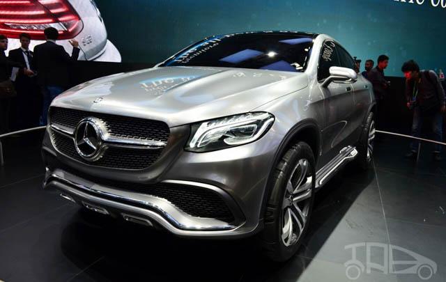 Mercedes-Benz Perkenalkan Concept Coupe SUV