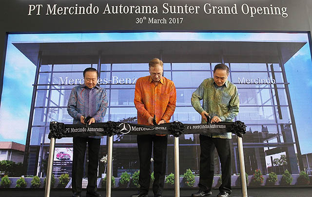 Mercedes-Benz Indonesia Hadirkan Dealer Baru di Sunter