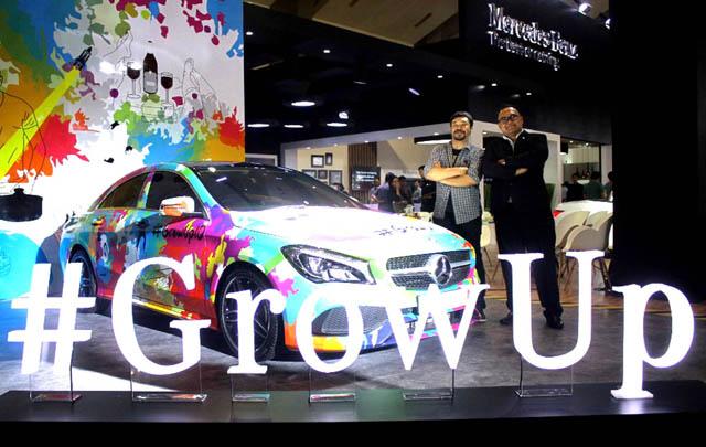 Mercedes-Benz Mulai Kampanye 'Grow-up' di IIMS 2017