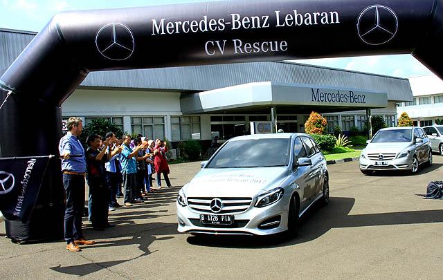 Sambut Lebaran, Mercedes-Benz Gelar 'Lebaran Rescue 2017'