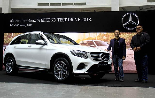 Mercedes-Benz Indonesia Gelar 'Weekend Test Drive 2018'