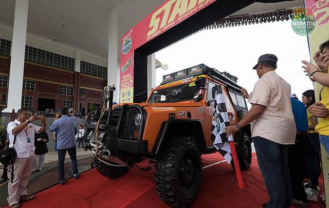 Gubernur Kalsel Resmi Lepas Peserta Meratus Expedition 2017