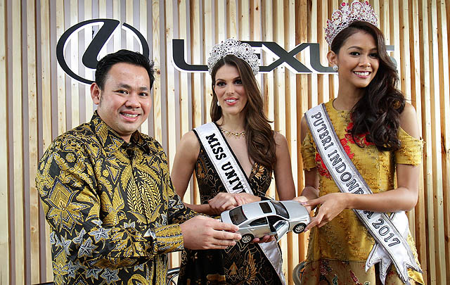 Manjakan Pelanggan, Lexus Indonesia Datangkan Miss Universe 2016