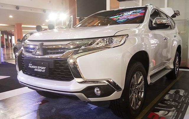 Varian Baru Mitsubishi Pajero Sport Resmi Mengaspal