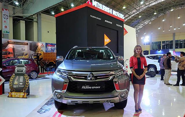 POMA 2016, Mitsubishi Perkenalkan Tiga Line-up Terbaru