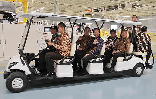 Mitsubishi Resmikan Pabrik Baru di Cikarang