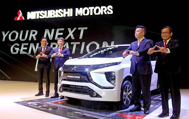 Mitsubishi XM Concept Versi Produksi Diperkenalkan