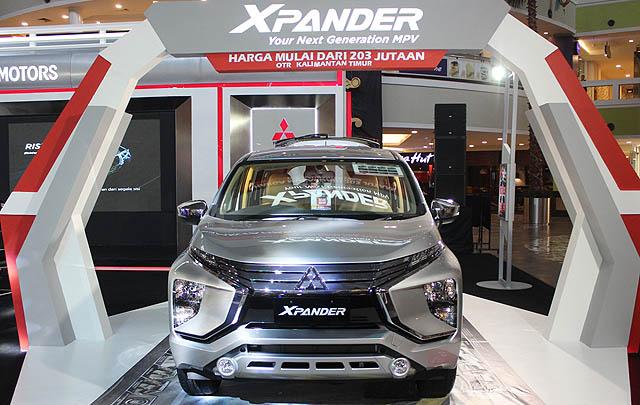 Mitsubishi Xpander Diperkenalkan di Balikpapan