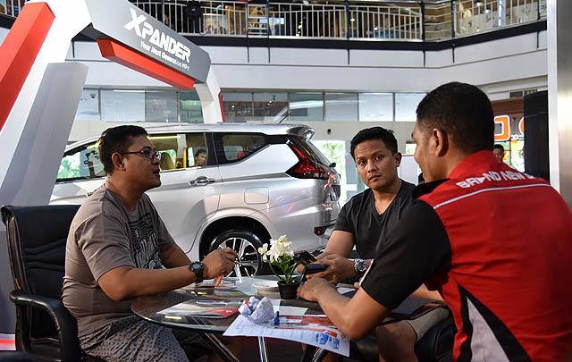 'Next Generation MPV' Mitsubishi Xpander Rilis di Makassar