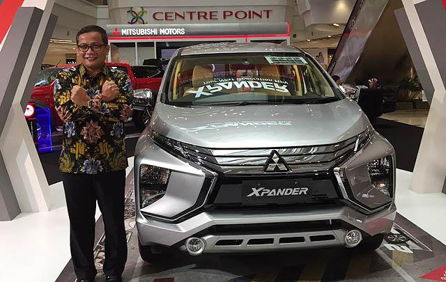 'Next Generation MPV' Mitsubishi Xpander Sambangi Medan
