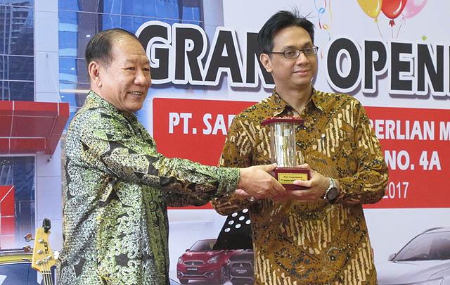 Perluas Jaringan, PT MMKSI Resmikan Dealer ke-89 di Medan