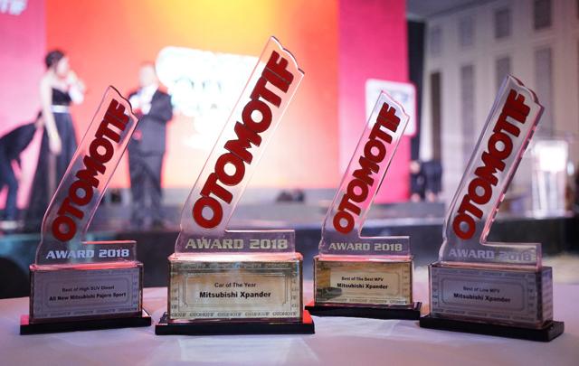 Mitsubishi Xpander meraih Car of the Year 2018 di Otomotif Award