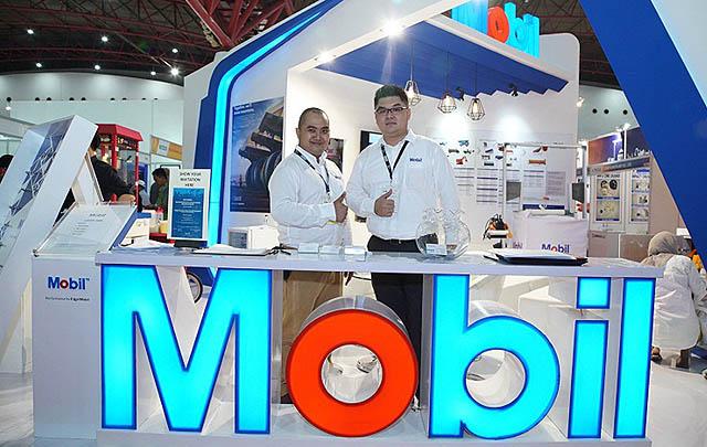 Hadir di Mining Indonesia 2017, Mobil Lubricants Perkenalkan 'Sistem GOLD'