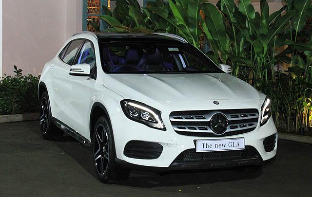 New Mercedes-Benz GLA Resmi Meluncur di Indonesia