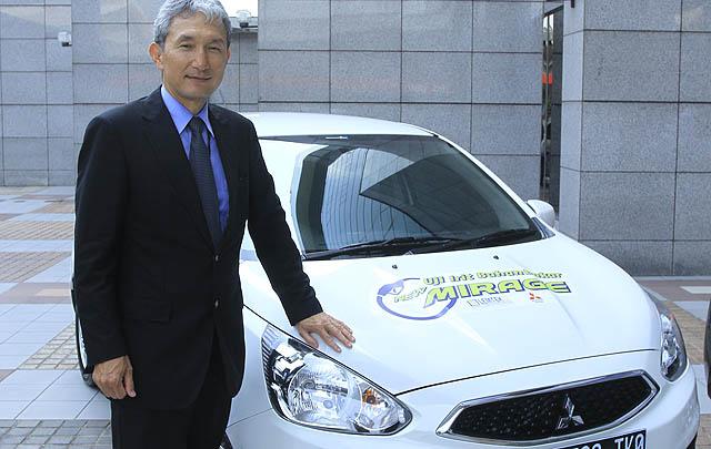 Konsumsi BBM Mitsubishi New Mirage Capai 24.2 Km/Liter