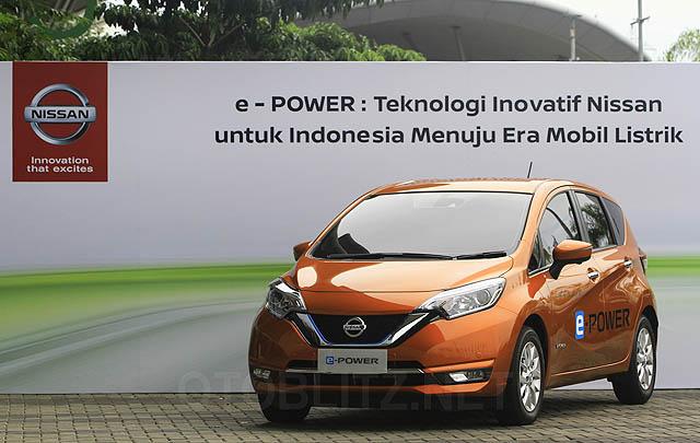 PT NMI Demostrasikan Mobil Listrik Nissan Note e-Power