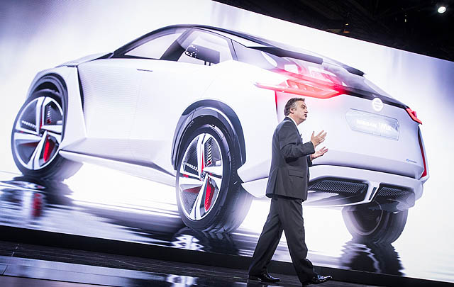 Nissan Luncurkan IMx Concept di Tokyo Motor Show 2017
