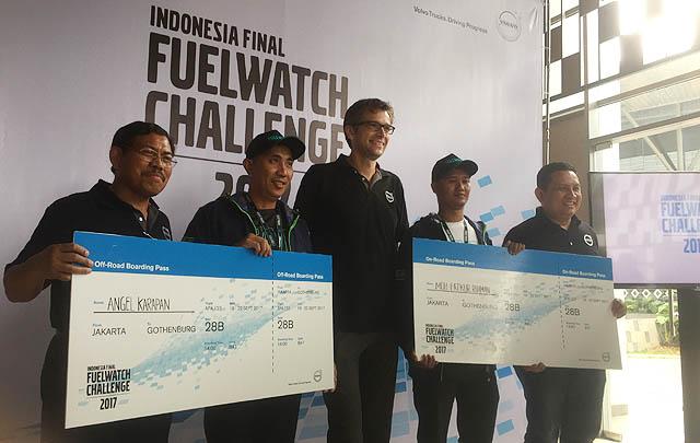 Inilah Pemenang Kompetisi Volvo Trucks 'Fuelwatch Challenge 2017' Indonesia