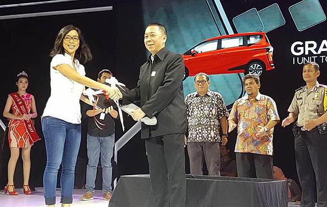 PT TAM  Catat Perolehan SPK 4.652 Unit di IIMS 2017