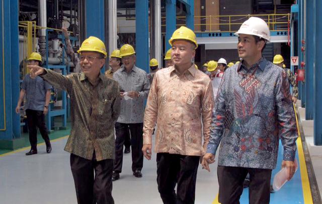 Federal Oil Resmikan Pabrik Barunya di Cilegon
