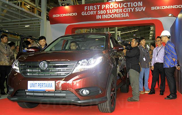 Menteri Perindustrian Resmikan Pabrik Sokonindo Automobile