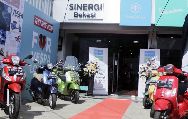 Buruan! Piaggio Gratiskan 100 Oli Motor di Dealer Bekasi