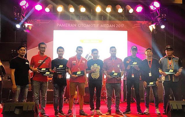 POM 2017, Dorong Budaya Otomotif di Medan & Sekitarnya