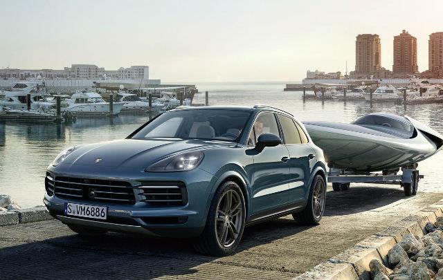 "Porsche The New Cayenne: Realisasi dari ""Sportscar Together"""
