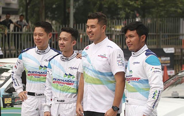 'Racing Car Experience' Pertamax Motorsport Dongkrak Antusiasme Pengunjung