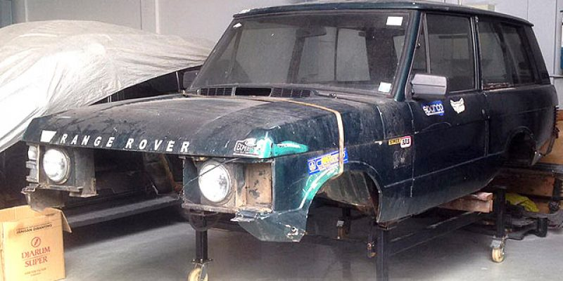 Restorasi Nostalgia, Range Rover 'Reborn' ala Indonesia (Part 1)