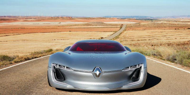 "FIRST LOOK | Renault Trezor Concept: ""Romantic Fantasy"""
