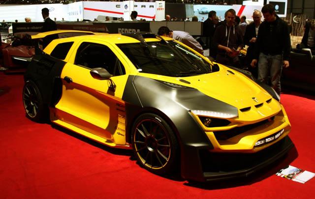 Sbarro Sparta, Mobil Reli Hybrid Diperkenalkan