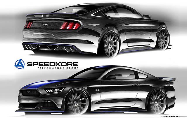 6 Mustang Kustom Siap Ramaikan SEMA Show 2016