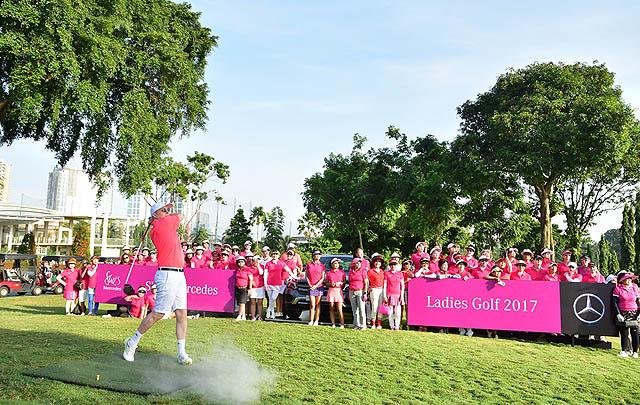 Turnamen Golf Wanita Bergengsi 'She's Mercedes Ladies Golf 2017' Digelar