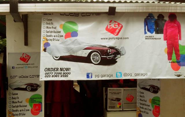 Cover Mobil PG Garage, Jaga Cat Mobil Tetap Elegan!