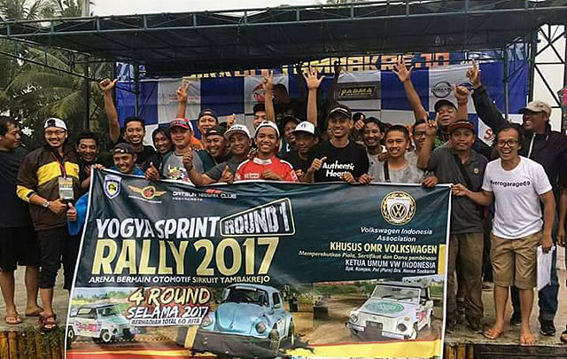 Kejuaraan Daerah IMI Sprint Rally 2017 Buka Kelas Khusus VW