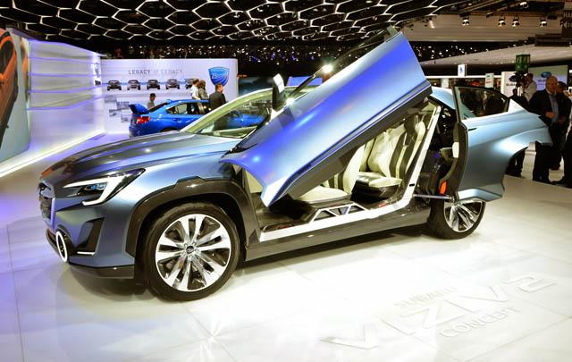 Subaru Viziv 2 Concept Resmi Diperkenalkan