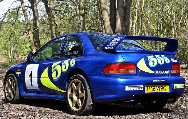 Subaru Impreza WRC97 Tembus Rekor Lelang Tertinggi