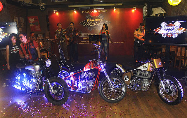 Suryanation Motorland 2016, Tempat Kumpulnya Pecinta Motor Kustom Indonesia